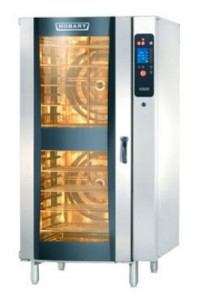 Hobart restaurant equipment combi ovens are easy to use and provide consistent results.